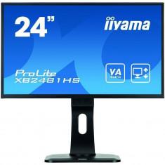 Monitor LED Iiyama Prolite XB2481HS-B1 23.6 inch 6ms Black, 23 inch