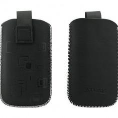 Toc OEM TSNOK1680NEG Slim negru pentru Nokia 1680CL / C1-01 / 1110 - Husa Telefon Oem, Vinyl