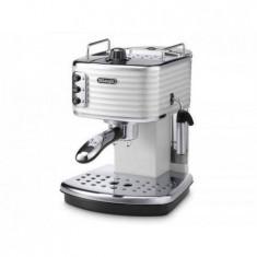 Espressor cafea Delonghi ECZ 351.W 1100W 1.4 Litri 15 Bari Alb