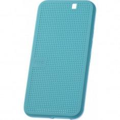 Husa Flip Cover HTC HC M232 Dot View albastra pentru HTC One M9