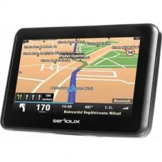 Sistem de navigatie Serioux Urban Pilot UPQ430 4.3 harta Europei Mireo Don't Panic + Actualizari pe viata a hartilor