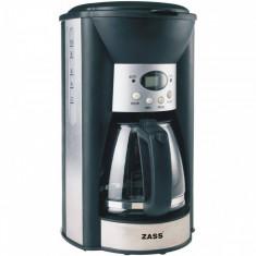 Cafetiera digitala Zass ZCM 03 T 1000 W 1.25 litri Neagra