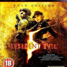 Joc consola Capcom Resident Evil 5 Gold Essentials PS3 - Jocuri PS3 Capcom, Actiune, 18+