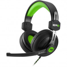 Casti gaming Sharkoon RUSH ER2 Green - Casca PC