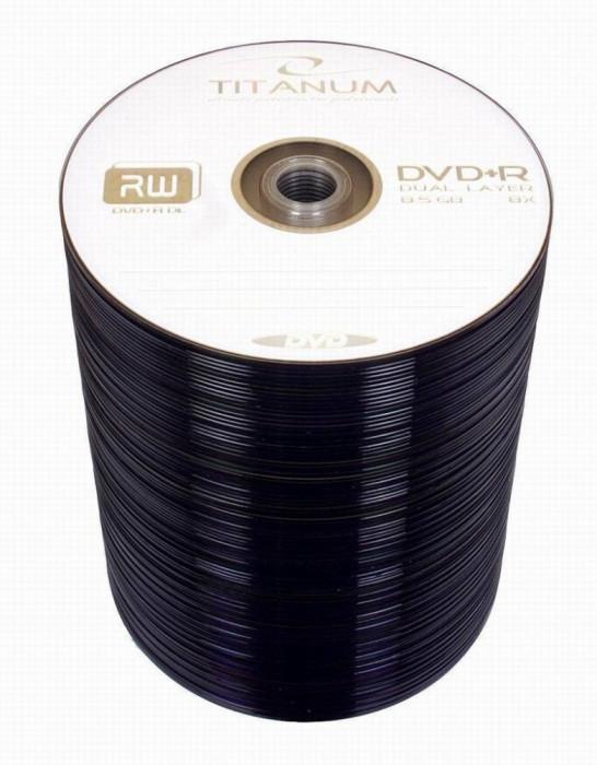 Mediu optic Esperanza DVD-R DL 8.5GB 8x 100 bucati