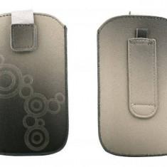 Toc OEM TLSAMGS2GRI Lux gri pentru Samsung Galaxy S2 / S / S Plus - Husa Telefon