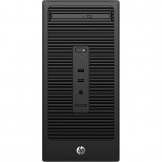 Sistem desktop HP 280 G2 MT Intel Core i3-6100 4GB DDR4 500GB HDD Windows 10 Pro Black