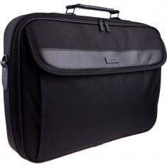Geanta laptop Natec Antelope 15.6 inch black, Nailon, Negru