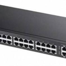 Switch ZyXEL GS2210-24LP-EU0101F 24 Porturi Black