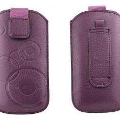 Toc OEM TSNOKE52VIO Slim violet pentru Nokia E52 / X1-00 / 100 - Husa Telefon Oem, Vinyl