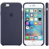 Husa Protectie Spate Apple Silicone Case Albastru Midnight pentru tiPhone 6s plus - Husa Telefon