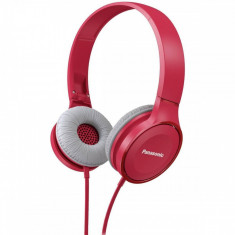 Casti audio cu banda Panasonic RP-HF100ME-P Microfon Roz, Casti Over Ear, Cu fir, Mufa 3, 5mm