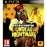 Joc consola Rockstar Red Dead Redemption Undead Nightmare PS3, Shooting, 18+