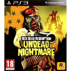 Joc consola Rockstar Red Dead Redemption Undead Nightmare PS3 - Jocuri PS3, Shooting, 18+