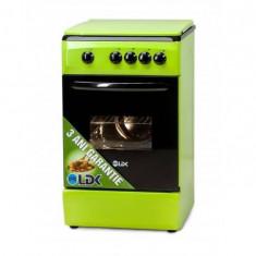 Aragaz LDK 5060 GREEN NG gaz 4 arzatoare Verde