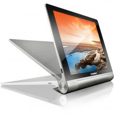 Tableta Lenovo Yoga 8 B6000 8 inch HD Touch Cortex A7 1.2 GHz Quad-Core 1GB RAM 16GB flash WiFi GPS 3G Android 4.2 Silver, Wi-Fi + 3G
