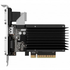 Placa video Gainward nVidia GeForce GT 710 SilentFX 1GB DDR3 64bit Low Profile - Placa video PC