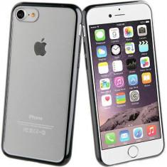 Husa Protectie Spate Muvit MUCRB0012 Crystal Bump Negru pentru Apple iPhone 7 Plus - Husa Telefon