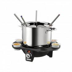 Set fondue electric Unold 1000W Negru/Argintiu - Aparat Desert