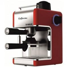 Espressor cafea Samus Caffeccino 800W 0.24l rosu, Manual, 3.5 bar