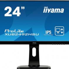 Monitor Iiyama XUB2492HSU 24inch 5ms Negru - Monitor LED