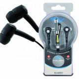 Casti Azusa SN-577MP Black, Casti In Ear, Cu fir, Mufa 3, 5mm