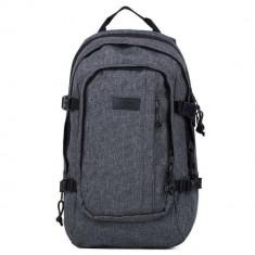 Rucsac laptop Eastpak ek22108i Evanz Ash Blend 17 inch - Geanta laptop EASTPAK, Nailon, Gri