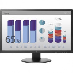 Monitor HP V243H 24 inch 5ms Negru - Monitor LED
