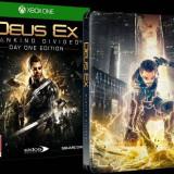 Joc consola Square Enix Ltd DEUS EX MANKIND DIVIDED STEELBOOK EDITION pentru XBOX ONE - Jocuri Xbox