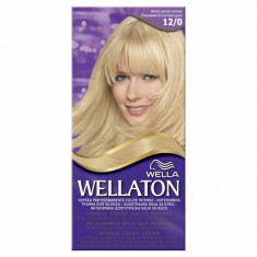 Vopsea de par WELLATON 120 Blond special luminos, Permanenta