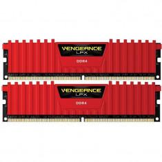 Memorie Corsair Vengeance LPX Red 16GB DDR4 2133 MHz CL13 Dual Channel Kit - Memorie RAM