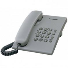Telefon Analogic cu Fir Panasonic KX-TS500FXH Gri - Telefon fix