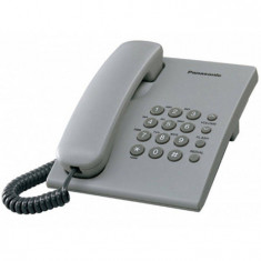 Telefon Analogic cu Fir Panasonic KX-TS500FXH Gri - Telefon fix