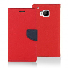 Husa Flip Cover Goospery Fancy Diary Red Navy pentru HTC ONE M9 - Husa Telefon