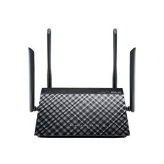 Router wireless Asus AC1200 Dual Band Gigabit Black, Port USB, Porturi LAN: 4