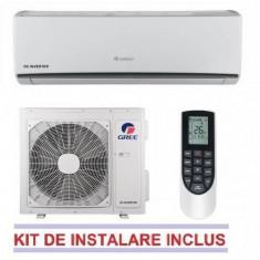 Aparat aer conditionat Gree LOMO GWH12QB-K3DNA1D 12000 BTU Inverter A++/A+ Alb WI-FI Optional + Kit Instalare