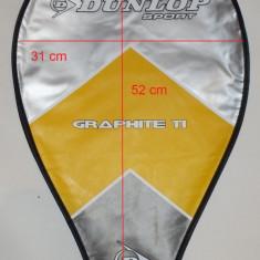 Husa racheta tenis DUNLOP Graphite, ca noua cod-420654 - Geanta tenis