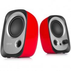 Sistem audio 2.0 Edifier R12U 4W rosu - Boxe PC