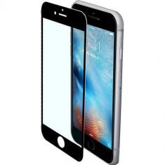 Folie protectie Generic Folie sticla securizata premium full body PRO iPhone 7 Plus tempered glass 9H 0, 3 mm Benks NEGRU - Folie de protectie