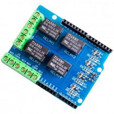 Modul placa expansiune 4 relee pentru arduino 5v 12v 220v