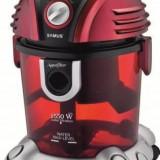 Aspirator cu filtrare prin apa Samus Aquafilter 1550W Rosu