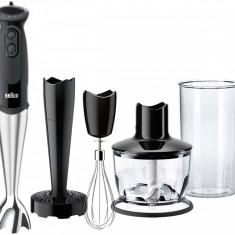 Mixer vertical Braun MQ5137BK Sauce 750W 21 Viteze Negru