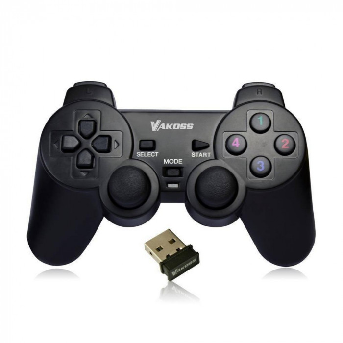 Gamepad VKO VAKOSS PC, XBOX fara fir