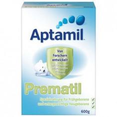 Lapte praf APTAMIL pentru prematuri Prematil 600g 0-6 luni - Lapte praf bebelusi