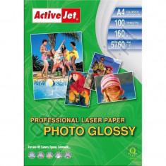 Hartie foto ActiveJet A4 Premium 160 Gr Laser - Hartie foto imprimanta