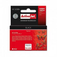 Consumabil ActiveJet Cartus compatibil Canon PGI-525B Black (20 ml) - Cartus imprimanta