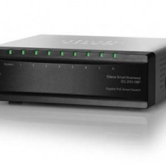 Switch Cisco SG 200-08P 8-porturi
