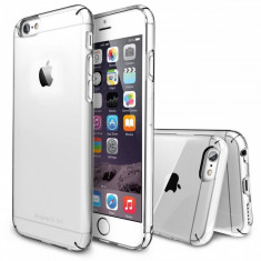 Husa Protectie Spate Ringke Slim Crystal plus folie protectie pentru Apple iPhone 6 - Husa Telefon Ringke, iPhone 6/6S, Plastic, Carcasa