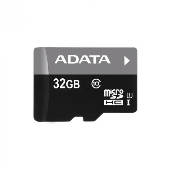 Card ADATA microSDHC 32GB Class 10 UHS-I U1 cu micro cititor V3 foto mare