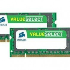 Memorie laptop Corsair 4GB DDR2 800MHz CL5 Kit